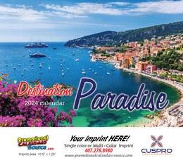 Oceans & Beaches Paradise Calendar 2022 - Stapled