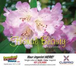 Floral Beauty Wall Appoitment Calendar 2022, Stapled, 11.5x18
