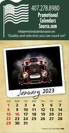 Classic Cars Stick-Up Calendar