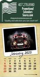 Classic Cars Stick-Up Calendar