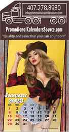 Country Girls Stick-Up Calendar
