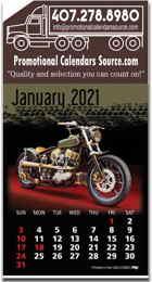 Motorcycles Stick-Up Calendar