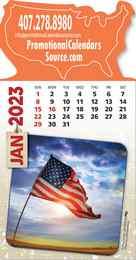 Patriotic America Stick-Up Calendar