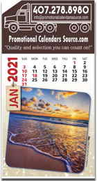 Scenic Views Stick-Up Calendar
