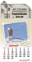 Wildlife Stick-Up Calendar