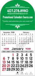 3-Month Stick-Up Billboard Calendar