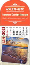 Scenic Views Billboard Adhesive Calendar