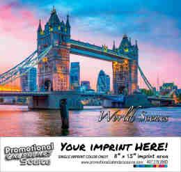 World Scenes - Scenic Promo Calendar - Spanish/English Bilingual