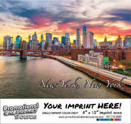 Promotional Calendar of New York Bilingual Spanish/English