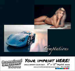 Girls and Cars Temptations Calendar - Spanish/English Bilingual