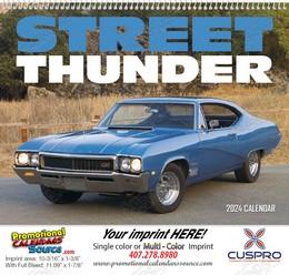 Street Thunder Promotional Wall Calendar 2019 Spiral