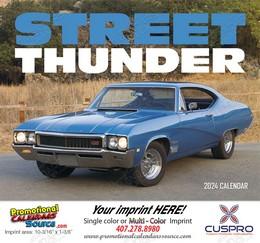 Street Thunder Promotional Calendar 2019 - Stapled
