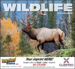 Wildlife Promotional Calendar  - Stapled