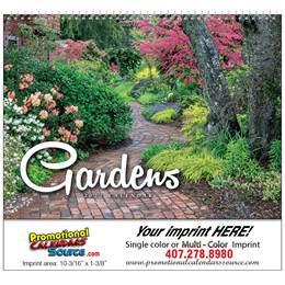 Gardens Wall Calendar 2019 - Spiral