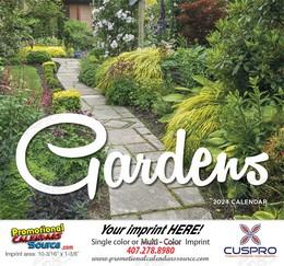 Gardens Promotional Calendar 2019 - Stapled