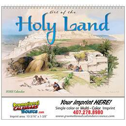 Art of the Holy Land- Universal Wall Calendar 2019 - Spiral