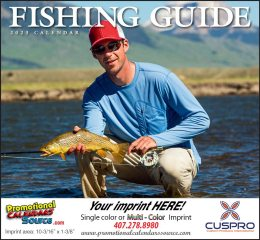 Fisherman's Guide Promotional Calendar 2019 - Stapled
