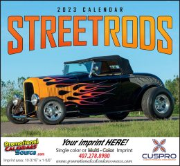 Street Rod Fever Promotional Calendar 2018 Stapled