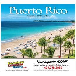 Puerto Rico Promotional Calendar  Stapled