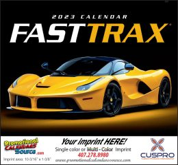 Fast Trax Promotional Calendar 2019 Stapled
