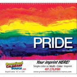 2021 LGBT Pride Promotional Calendar Spiral