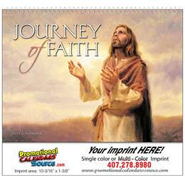 Journey of Faith Universal Promotional Calendar  Spiral