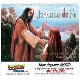 Jornada de Fe Catholic Promotional Calendar 2016 Spiral