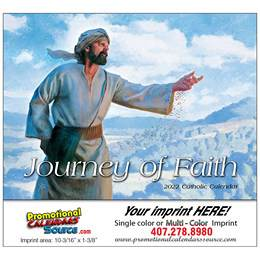 Journey of Faith Catholic Promotional Calendar 2019 Stapled