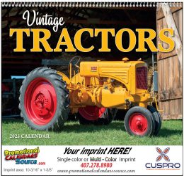 Legendary Tractors Promotional Calendar 2019 - Spiral