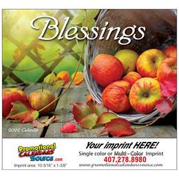 Blessings Promotional Calendar Stapled