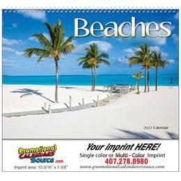 Fabulous Beaches Promotional Calendar Spiral Binding