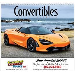 Convertible Sport Cars Promotional Calendar, 2019, Spiral