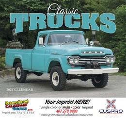 Classic Trucks Promotional Calendar  Stapled