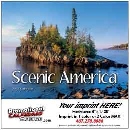 Scenic America Mini Wall Calendar 2019