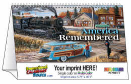 America Remembered Tent Desk Calendar 2018