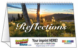 Reflections Promotional Tent Desk Calendar 2019