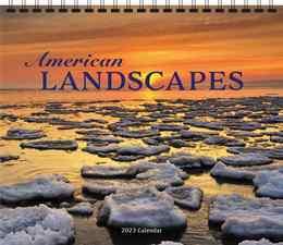 American Landscapes Scenic Walll Calendar 2019