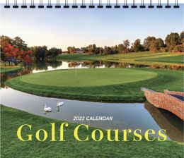 Golf Courses Promotional Calendar 2018