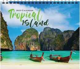 Tropical Island Scenic Calendar 2019