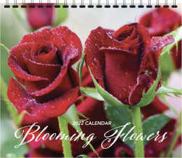 Blooming Flowers Calendar 2019