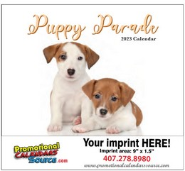 Puppy's Parade 2019 Calendar