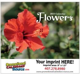 Flowers Promo Wall Calendar, 11x19