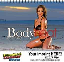 Body Heat Calendar w Spiral Binding