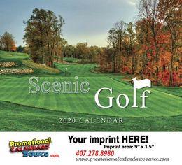 Scenic Golf  Promotional Calendar