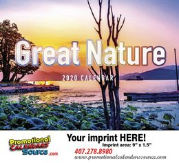 Great Nature Scenic Promotional Calendar 2019