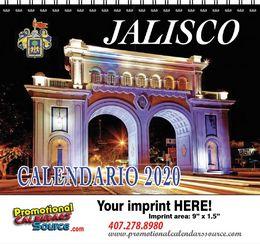 Jalisco Calendar w Spiral Binding