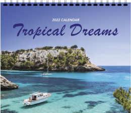 Tropical Dreams 3 Mont View Promotional Calendar 2018