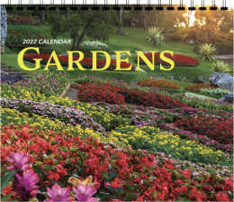 Gardens 3 Month View Promotional Calendar
