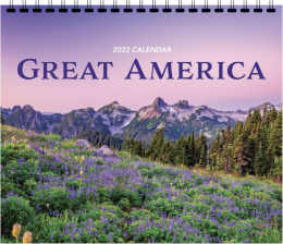 Great America 3 Mont View Promotional Calendar 2018