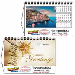 Around The World Desk Calendar